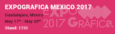 Roberts Graphics at Expo Grafica Mexico 2017
