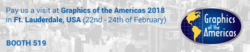 A notification for Robert Graphics attendance at the Graphics of the americas event 2018