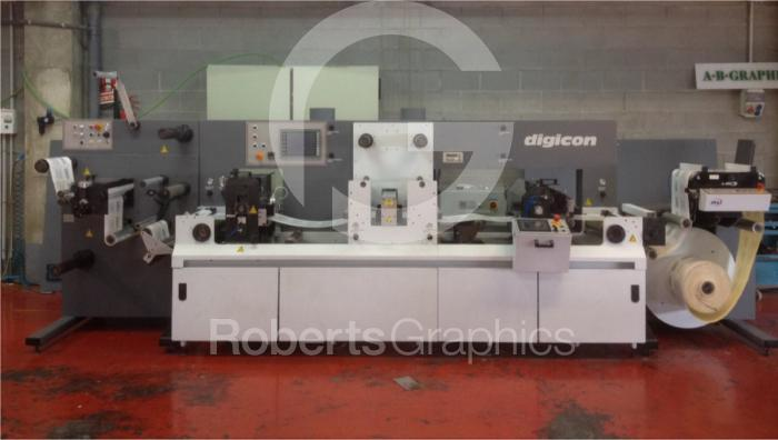 Used 2001 AB GRAPHIC DIGICON SERIES 1