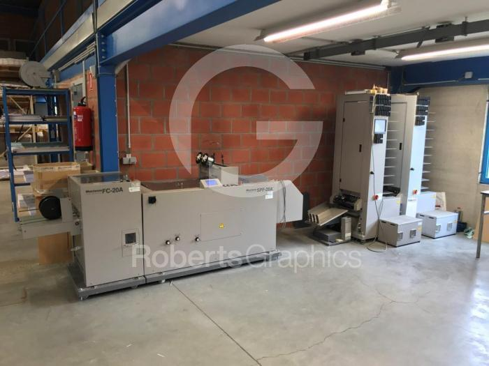 2005 HORIZON SPF-20A BOOKLET MAKER