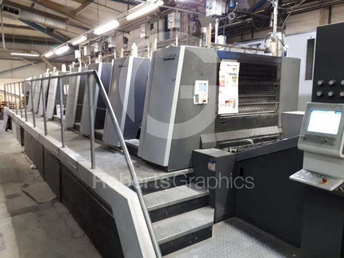 2014 HEIDELBERG SPEEDMASTER XL 106 8P WITH CUTSTAR
